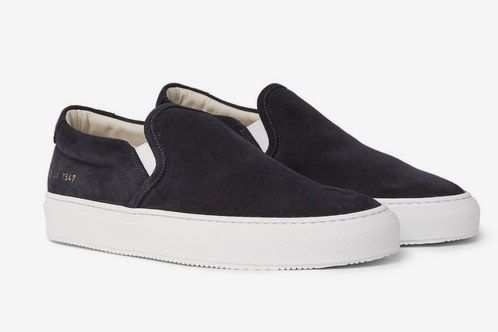 Common Projects Suede Slip-On Sneakers