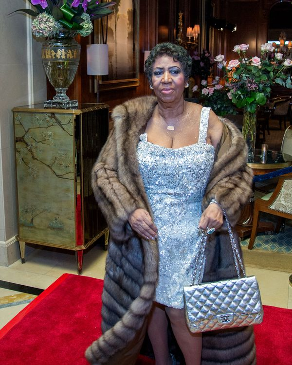 3a3f5b3faed6 Aretha Franklin's Chanel Handbags Carried More Than Cash