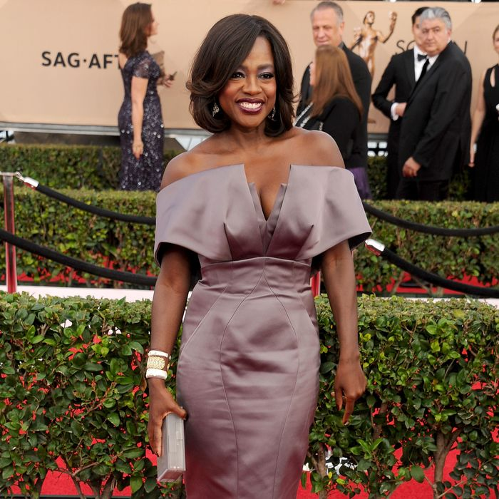 Viola Davis has all the quotes. Photo: Gregg DeGuire/WireImage