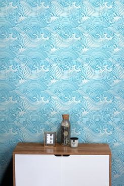 DeccoPrint Japanese Style Removable Wallpaper