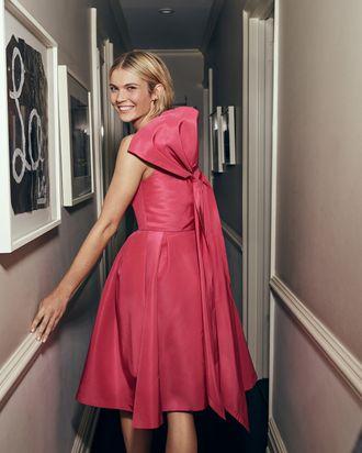 7d3fe034c46ad You'll Feel Like Audrey Hepburn in Carolina Herrera's Holiday Dresses