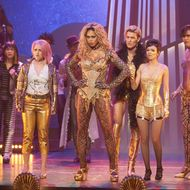 THE ROCKY HORROR PICTURE SHOW: Let's Do The Time Warp Again:  L-R:  Annaleigh Ashford, Laverne Cox, Staz Nair, Victoria Justice and Ryan McCartan in THE ROCKY HORROR PICTURE SHOW: Let's Do The Time Warp Again, premiering Thursday, Oct. 20 (8:00-10:00 PM ET/PT) on FOX. ©2016 Fox Broadcasting Co. Cr: Steve Wilkie/FOX