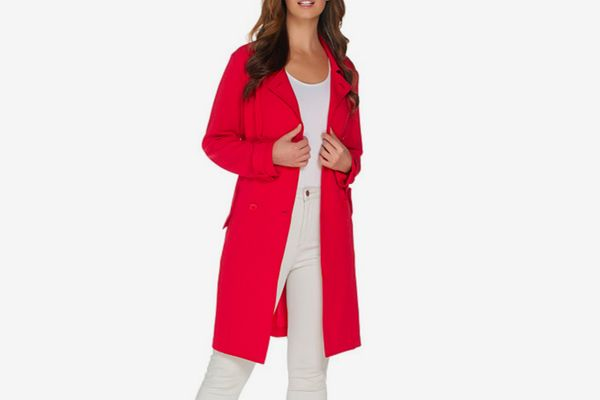 Brooke Shields Timeless Lightweight Trench Coat