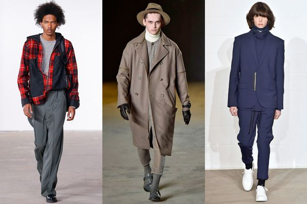 Men and Their Zippers: A Runway Love Affair