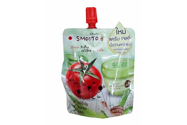 Smooto Tomato Aloe Snail Jelly Scrub, Pack of 3