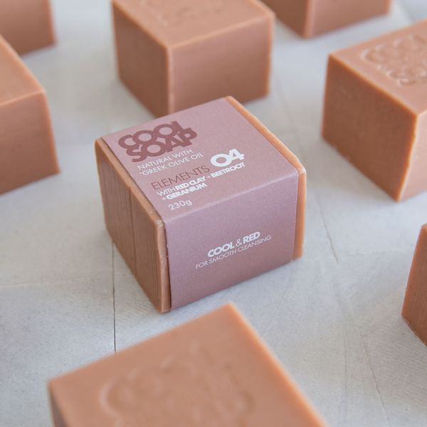 Cool Soap Geranium & Red Clay soap