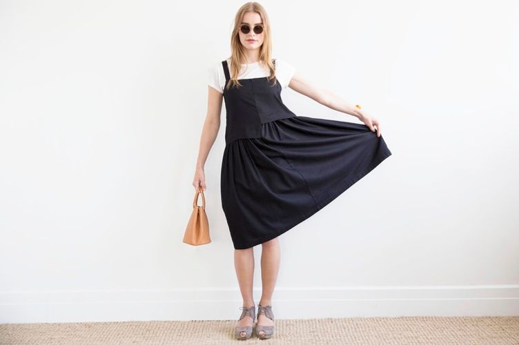 Reifhaus Black Escalera Dress