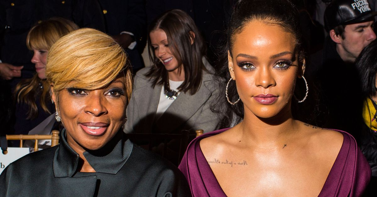 Seen at Fashion Week: Rihanna, Spilled Champagne -- The Cut Mary J Blige Cars