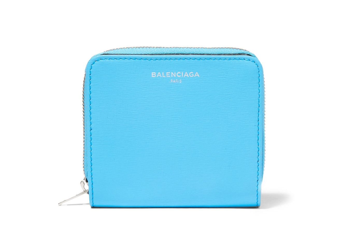 Balenciaga Essential Textured-Leather Wallet