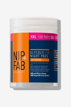 Nip+Fab Glycolic Fix Night Pads Extreme, Supersize