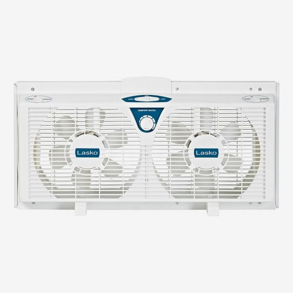 Lasko Twin Electric Reverse Window Fan