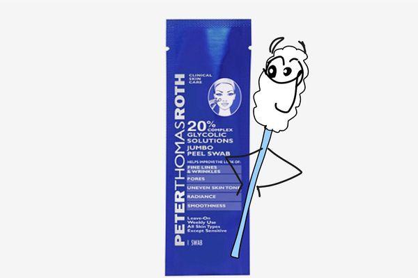 Peter Thomas Roth 20% Complex Glycolic Solutions Jumbo Peel Swab