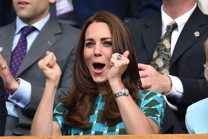 Kate Middleton at Wimbledon 2014. Photo: Chris Jackson/Getty Images