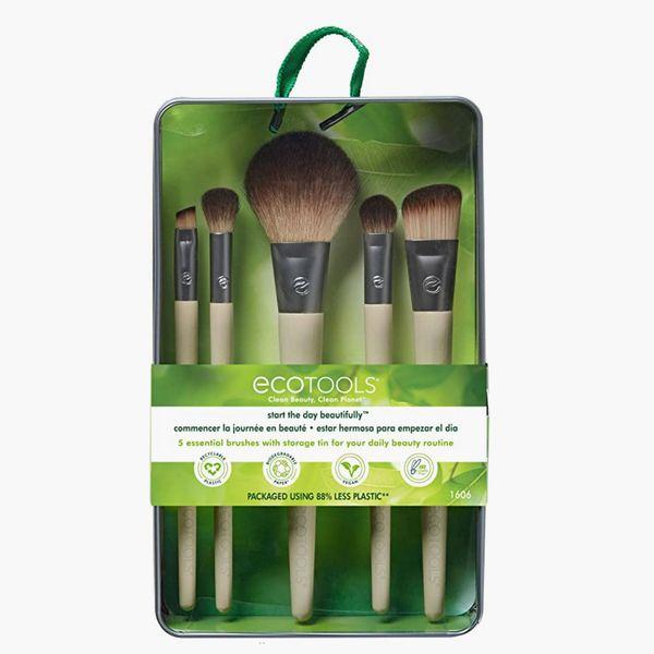 EcoTools Makeup Brush Set for Eyeshadow, Foundation, Blush, and Concealer
