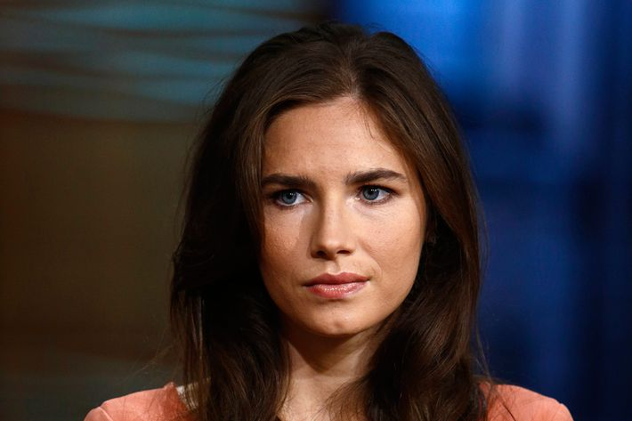 "Amanda Knox appears on NBC News' ""Today"" show"