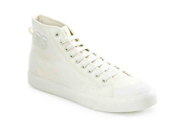 Adidas by Raf Simons Spirit Canvas High-Top Sneakers