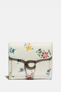 Coach Tabby Small Wallet With Wildflower Print