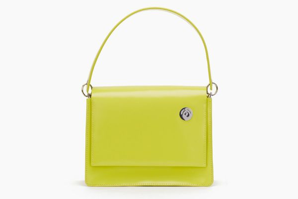 Lime Pinch Shoulder Bag