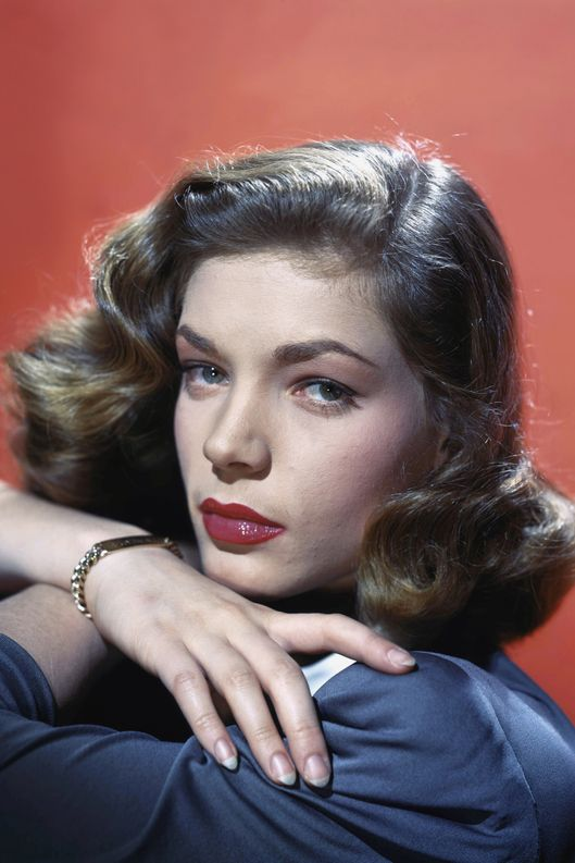 American actress Lauren Bacall --- Image by ? Sunset Boulevard/Corbis
