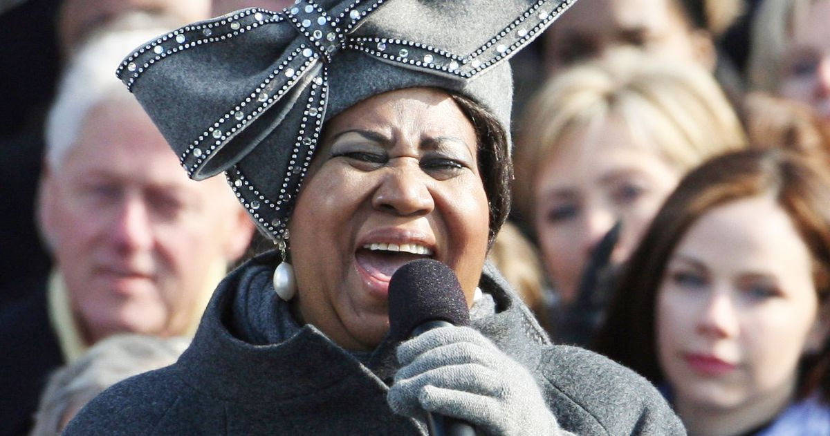 Aretha Franklin And Hat Performed At Obama S Inauguration
