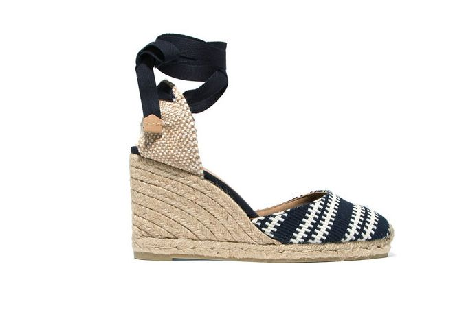 Castañer Chiara Canvas Wedge Espadrilles