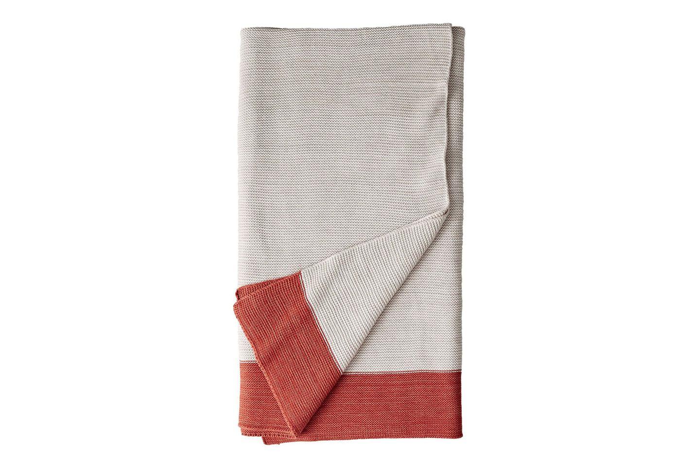 DwellStudio Marled-Knit Throw Blanket