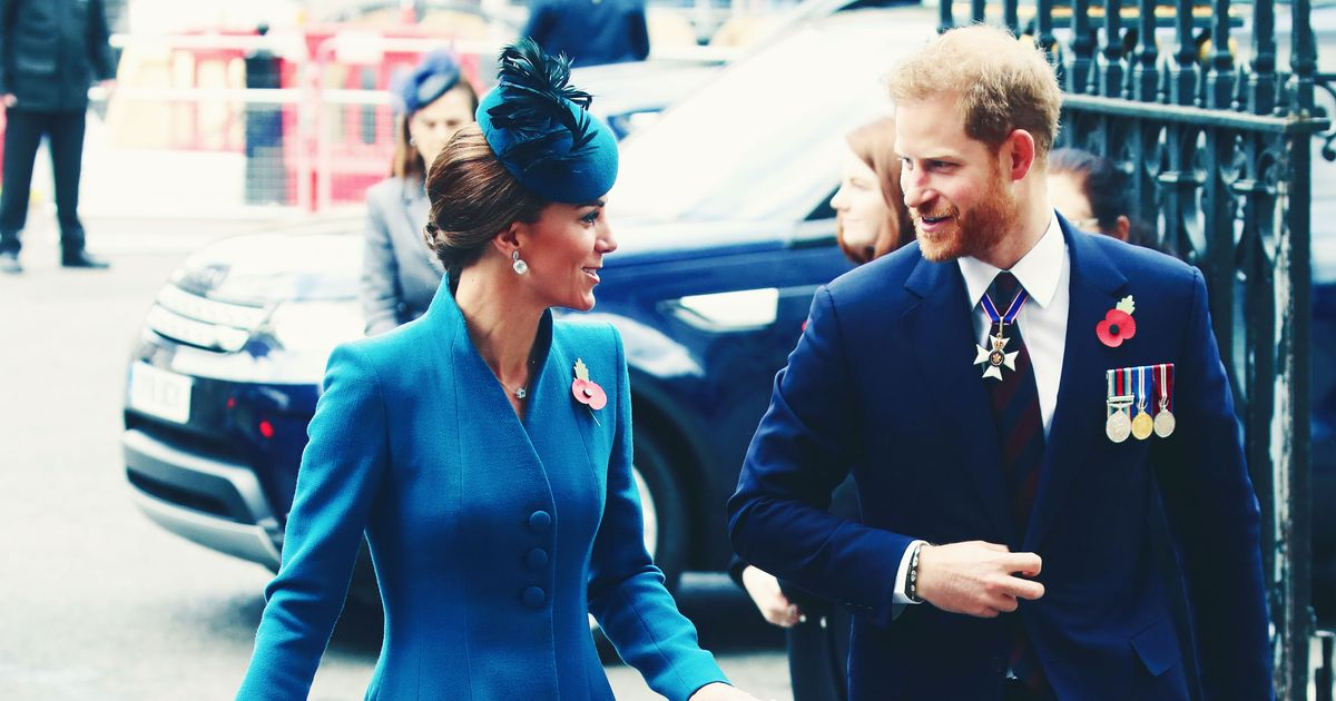 Kate Middleton and Prince Harry Hung Out, How Nice