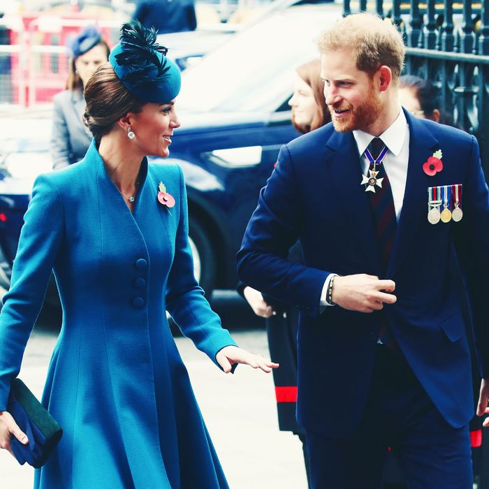 Kate Middleton and Prince Harry.