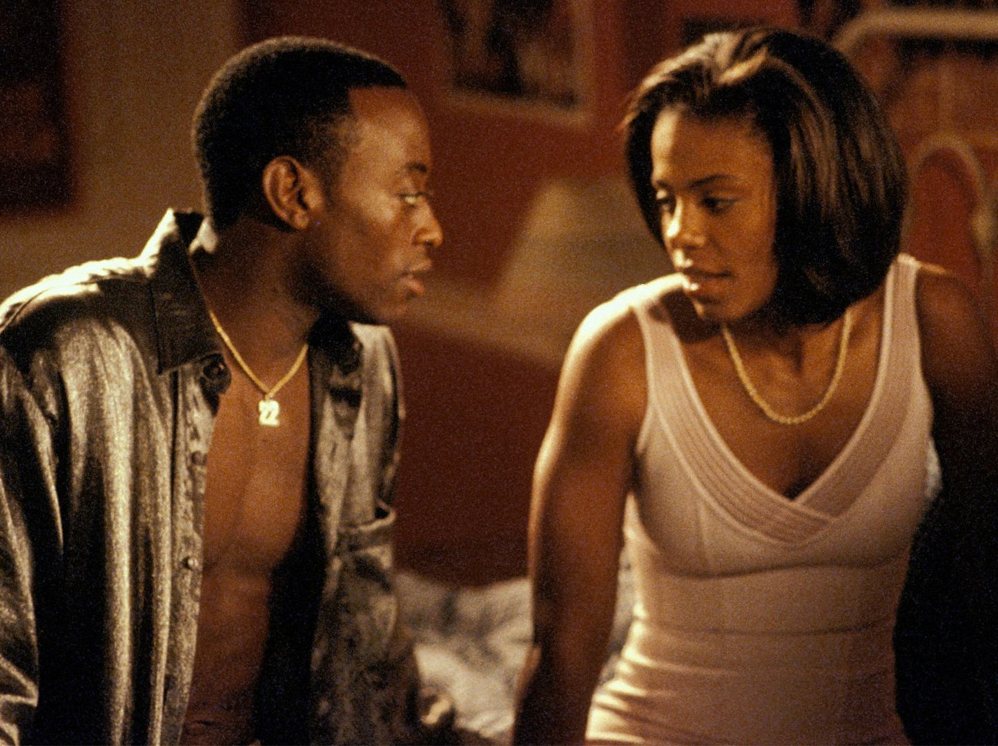 "love and basketball ""love & basketball"" is a true epic, the story of the love between monica (sanaa  lathan) and quincy (omar epps), which begins when monica's."
