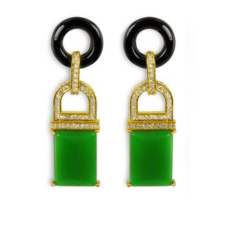 Rachel Zoe's earrings.