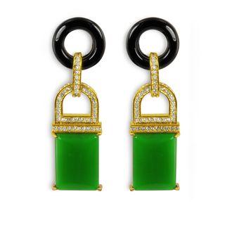 Rachel Zoe's earrings.