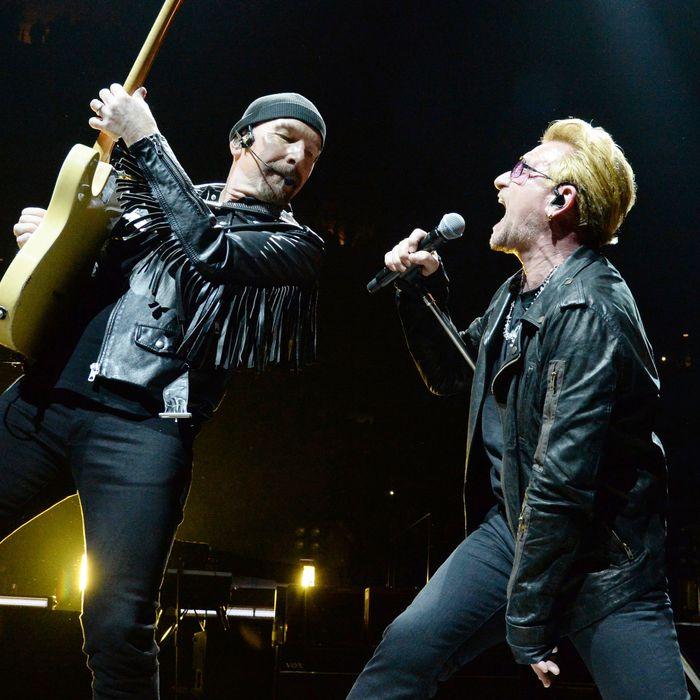 u2 innocence experience tour new york - U2 At Madison Square Garden