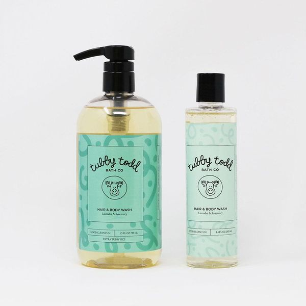 Tubby Todd Hair and Body Wash, 8.4 Ounces
