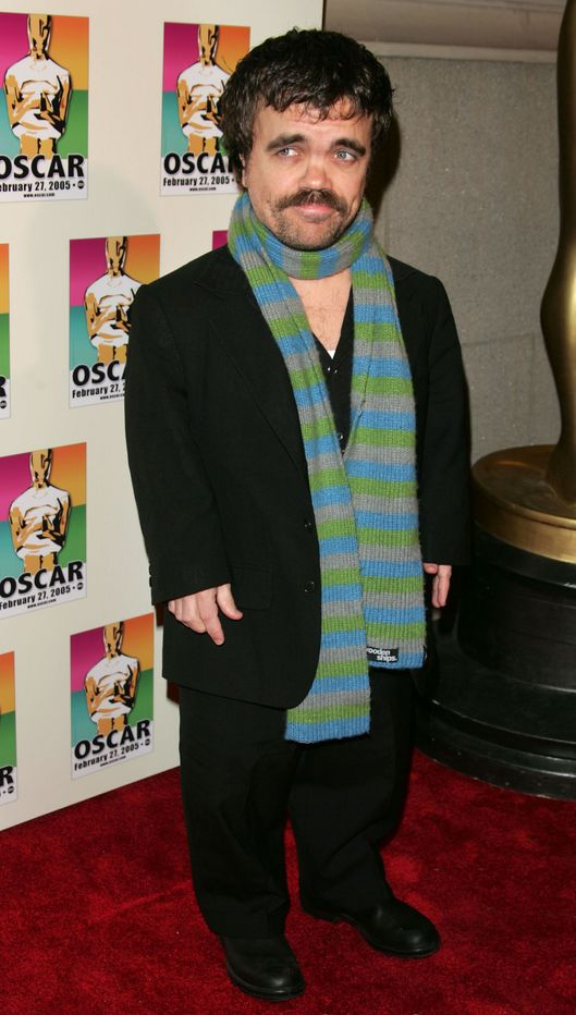 Actor Peter Dinklage attends the NY Academy Awards celebration for Director Sidney Lumet's honorary academy award on February 23, 2005 in New York City.