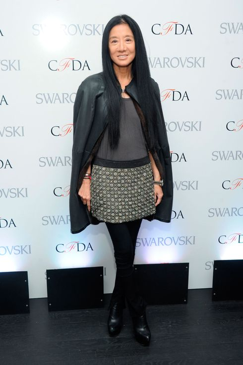 Designer Vera Wang attends the CFDA 2013 Awards Nomination event on March 13, 2013 in New York City.