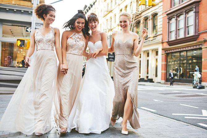 NYC Bridesmaids Dresses - New York Weddings