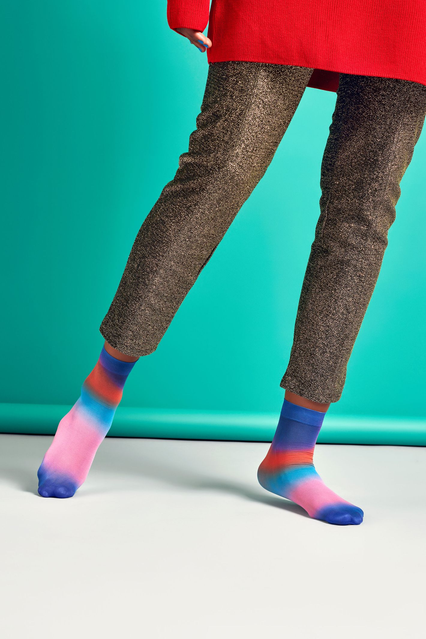 Mia Print Ankle Sock