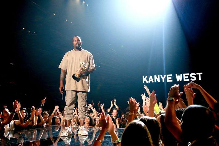 Kanye West 2015 MTV Video Music Awards