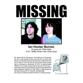 Reddit and Facebook Assist in Search for Missing College Student Ian