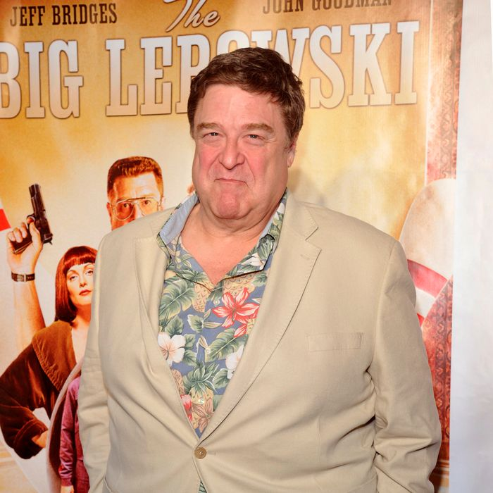 John Goodman at last night's release party.