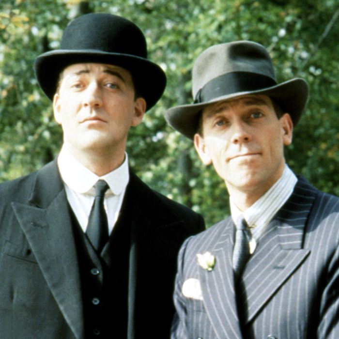 JEEVES AND WOOSTER, Stephen Fry, Hugh Laurie, 1990-93, © ITV / Courtesy: Everett Collection