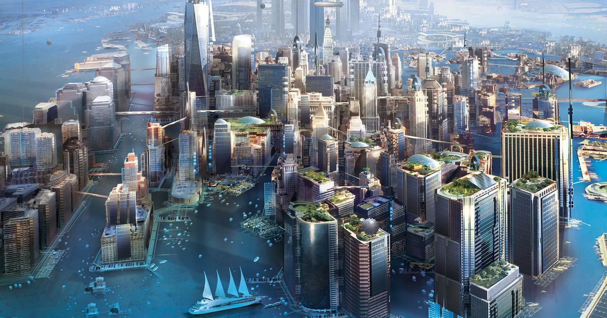 What Will Manhattan Be Like After Sea Levels Rise? Kim ...