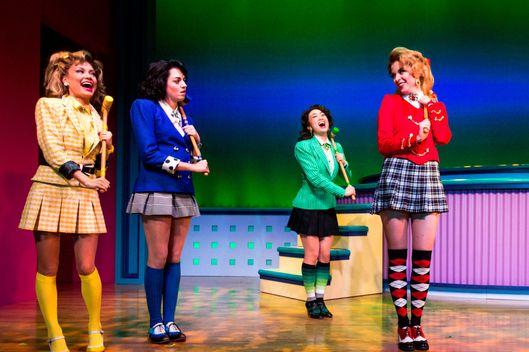 "3/14/2014 - New York, New York. Musical ""Heathers"" performing at New World Stages in New York. Photo by Chad Batka."