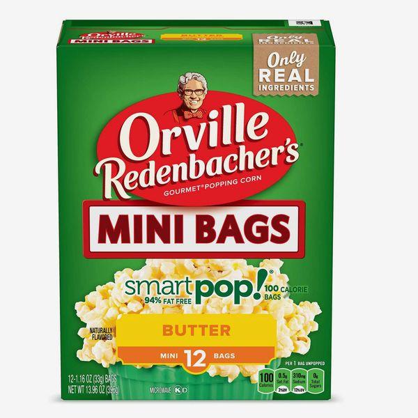 Orville Redenbacher's SmartPop! Butter Popcorn, 12 100-Calorie Bags (Set of 6 Boxes)