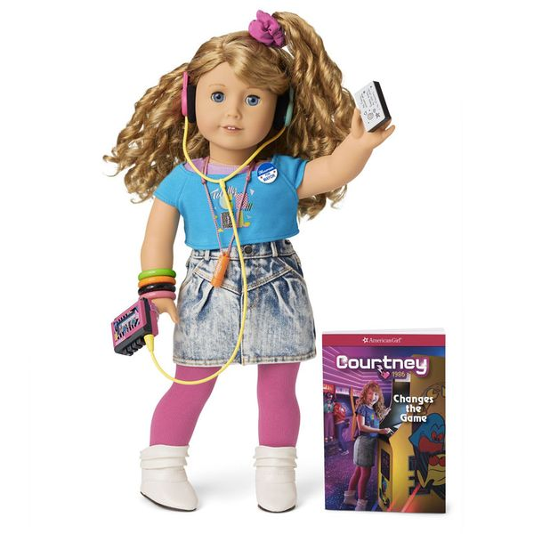 Courtney, the '80s American Girl Doll