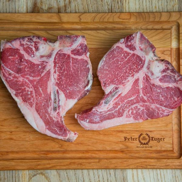 Peter Luger Steak Pack B - 2 USDA Prime Dry-aged Porterhouse Steaks
