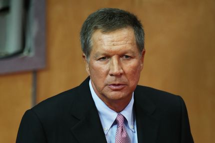 TAMPA, FL - AUGUST 29:  Ohio Gov. John Kasich attends the third day of the Republican National Convention at the Tampa Bay Times Forum on August 29, 2012 in Tampa, Florida. Former Massachusetts Gov. Former Massachusetts Gov. Mitt Romney was nominated as the Republican presidential candidate during the RNC, which is scheduled to conclude August 30.  (Photo by Scott Olson/Getty Images)
