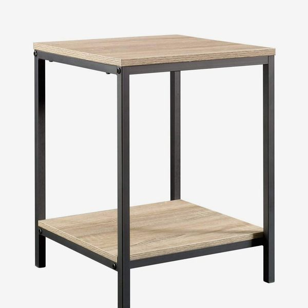 Sauder North Avenue Side Table, Charter Oak finish