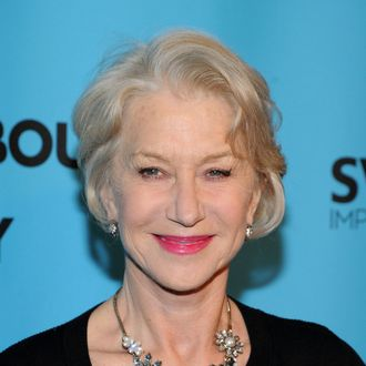 NEW YORK, NY - MARCH 10: Actress Helen Mirren attends Roundabout Theatre Company's 2014 Spring Gala at Hammerstein Ballroom on March 10, 2014 in New York City. (Photo by Ilya S. Savenok/Getty Images)