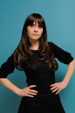 PARK CITY, UT - JANUARY 23:  Actress Zooey Deschanel poses for a portrait during the 2011 Sundance Film Festival at The Samsung Galaxy Tab Lift on January 23, 2011 in Park City, Utah.  (Photo by Larry Busacca/Getty Images for Sundance Film Festival) *** Local Caption *** Zooey Deschanel